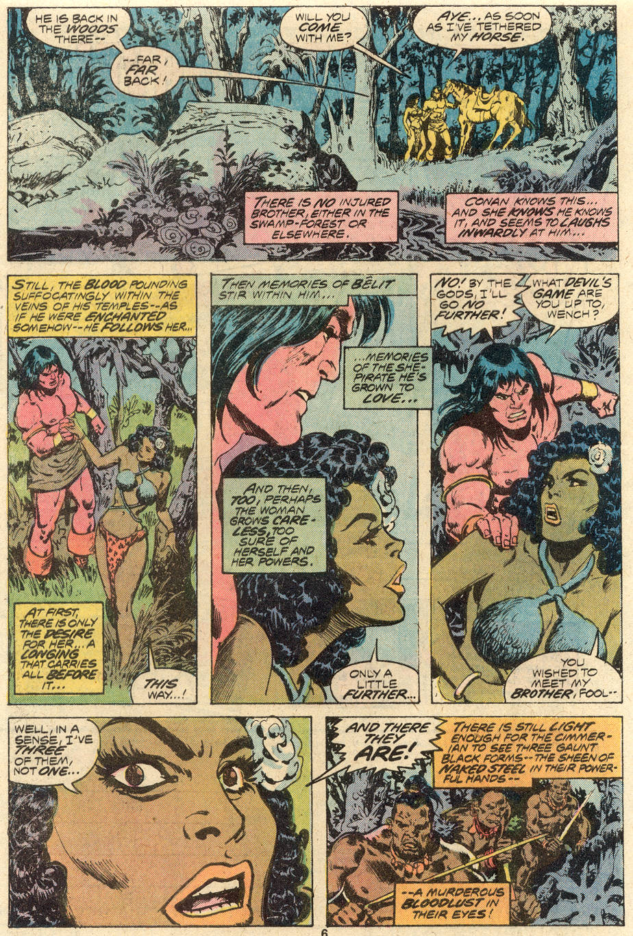 Conan the Barbarian (1970) Issue #82 #94 - English 5