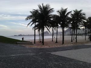 Vista do Leme para Copabacana