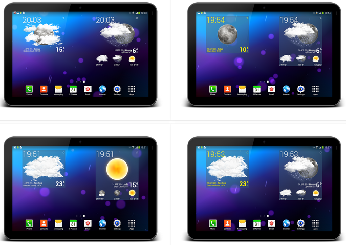 Weather Animated Widgets v5.60 APK