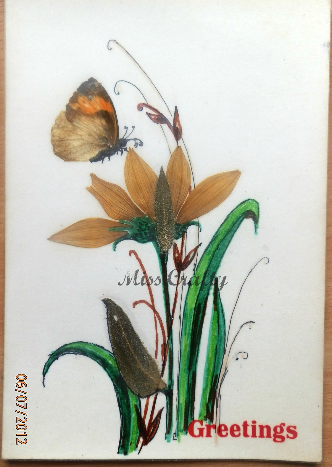 The Craft Gallery Pressed Flowers Greeting Cards Part 2