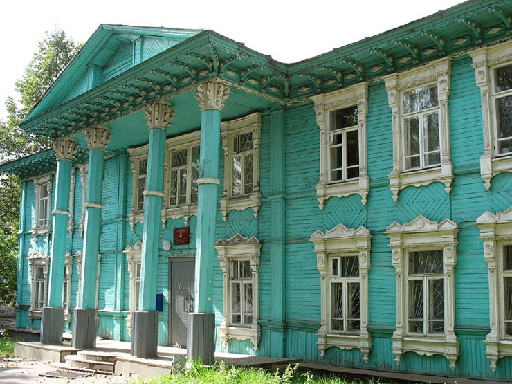 Way Cool Pictures Old Russian Architecture
