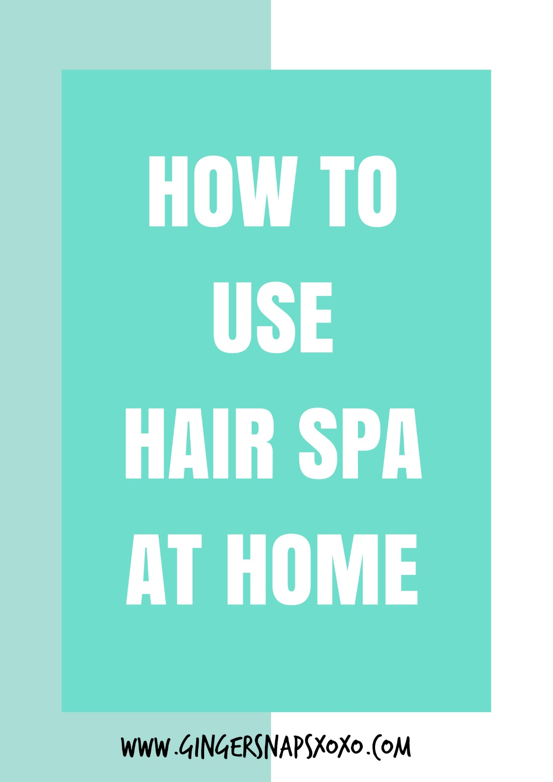 How to use l oreal hair spa at home review gingersnaps - How to make a beauty salon at home ...