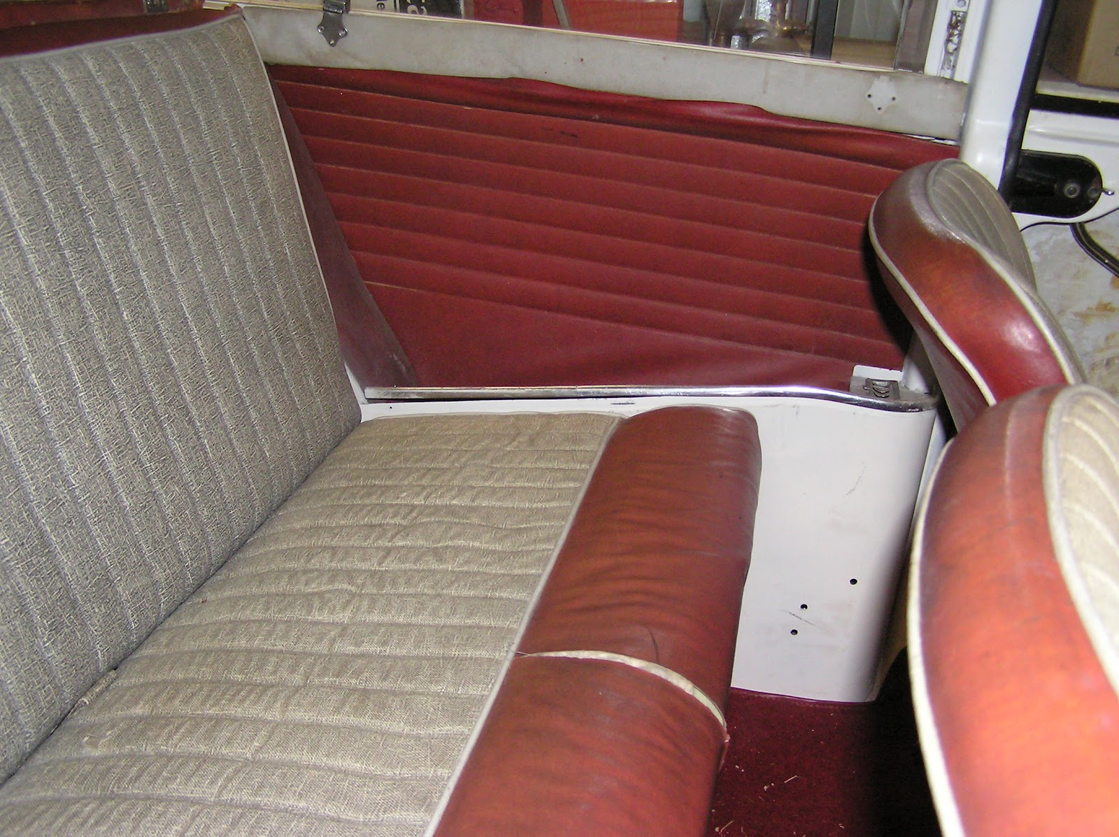 Tim S Mk1 Morris Mini Traveller Restoration
