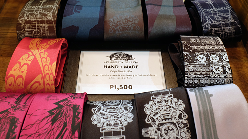 Whatneilwritesabout.com Satchmi Megamall Coffee and Music Hand Made Ties Review