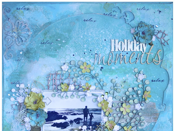 Holiday Moments - Layout