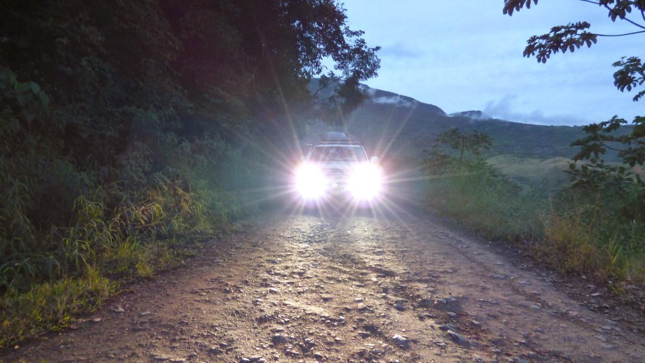 Die Dead Road bei Nacht - auch ein Erlebniss
