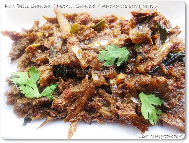 how to make indian fish sambal