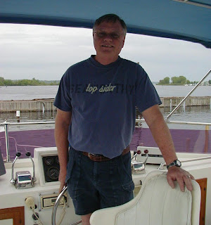 Captain Ron welcomes you aboard