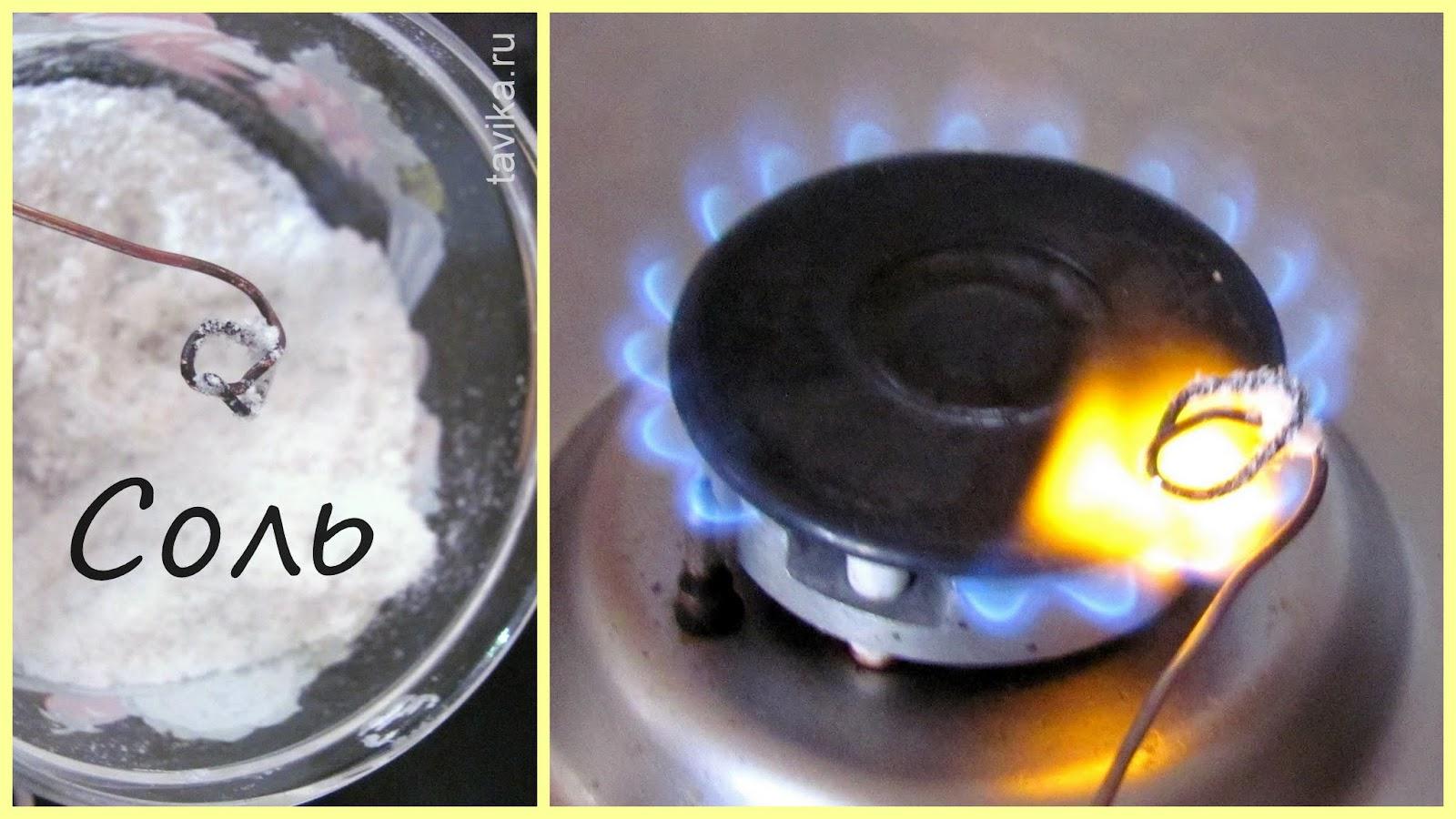 Как сделать пламя