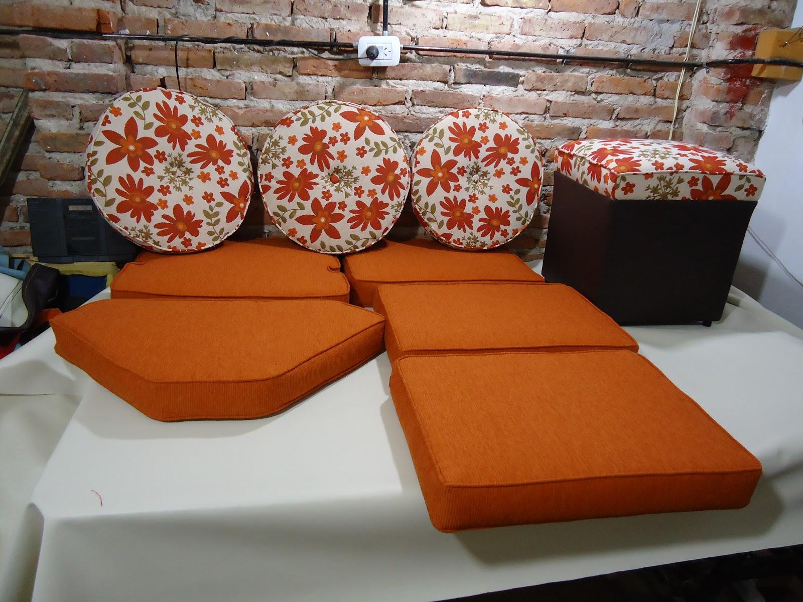 Tapiceria norte confeccion de almohadones para esquinero Confeccion de muebles de cocina