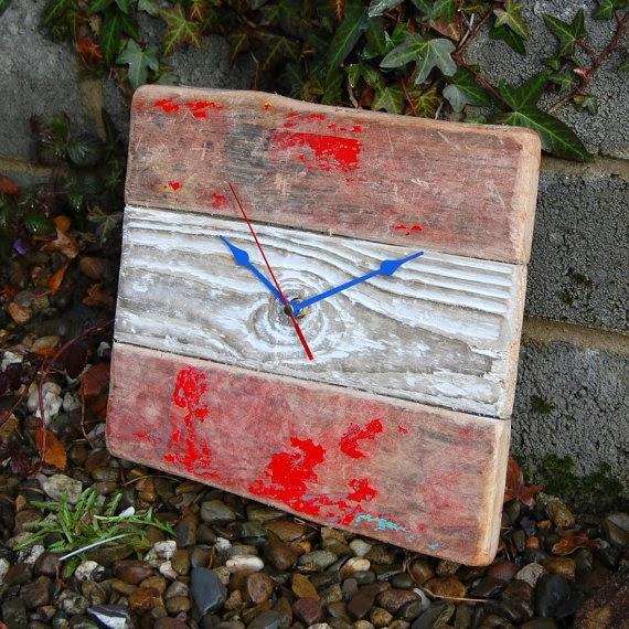 Driftwood clock Craftyisland