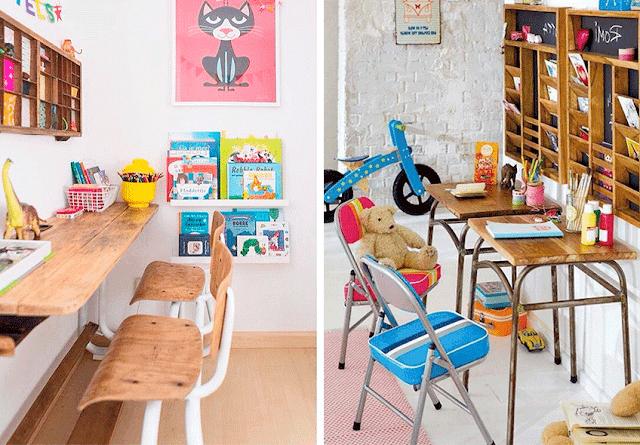 Muebles vintage para niños