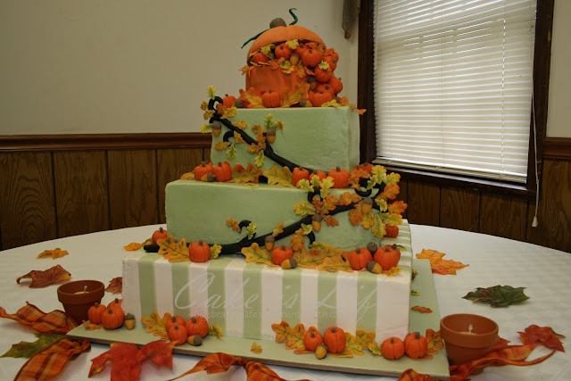 Autumn Decorated Cakes6