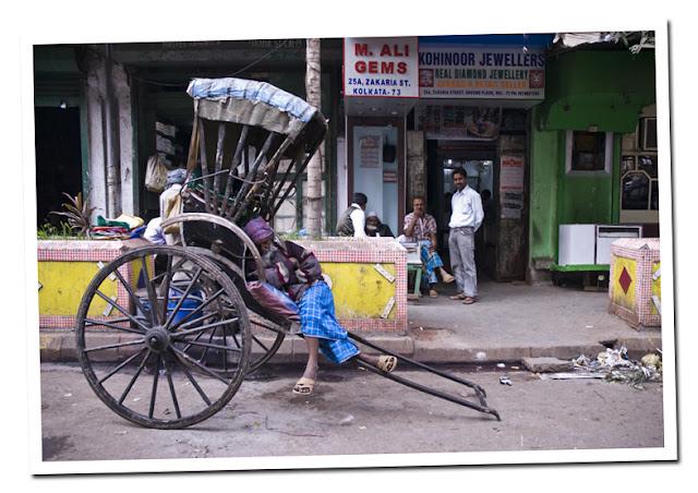rickshaw calcuta