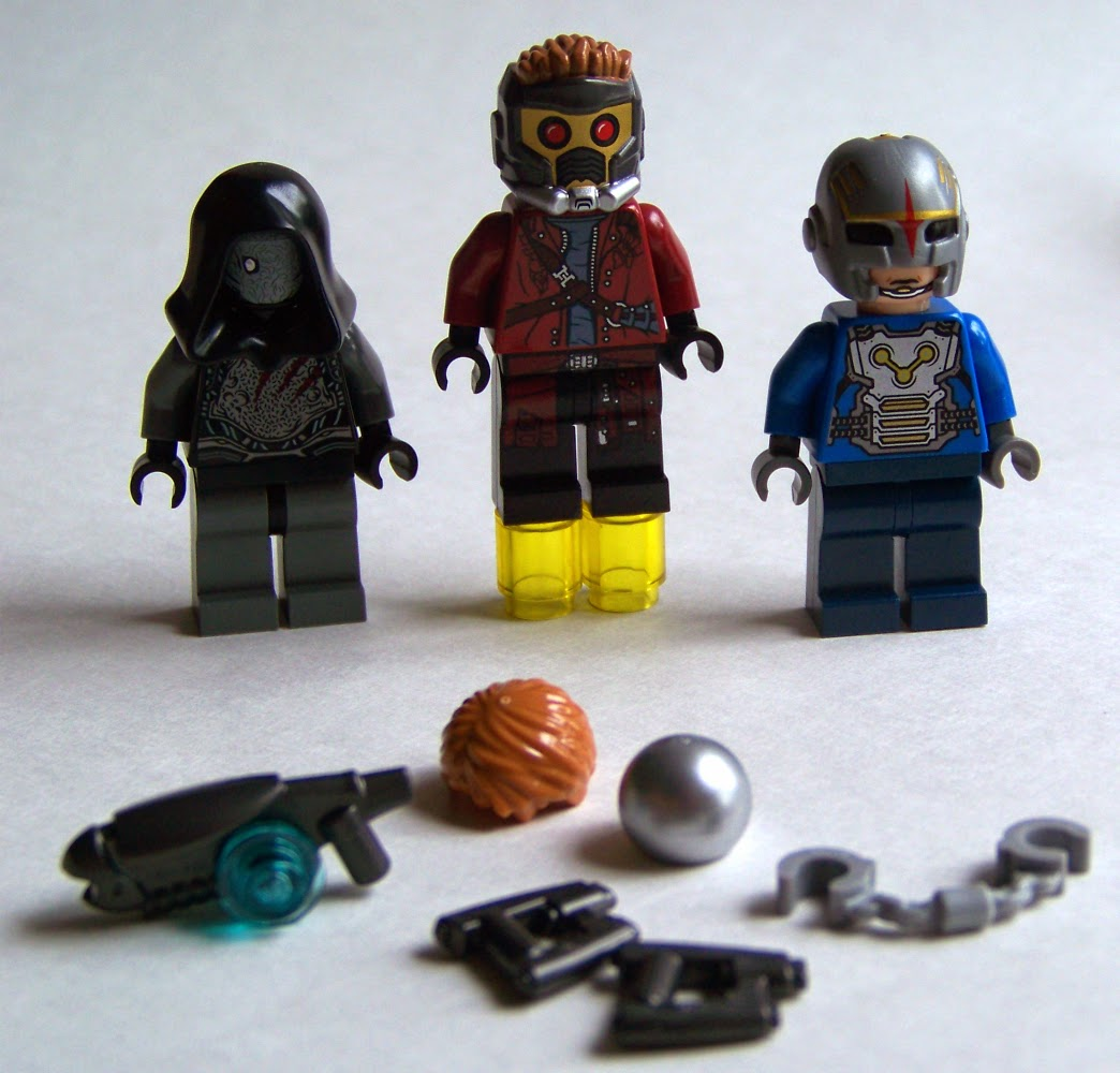 Guardian of the Galaxy LEGO minifigures