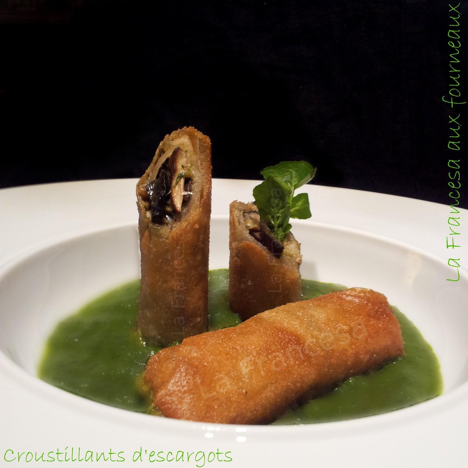 La table lorraine d amelie veau aux cepes et girolles en - Recette De Croustillants D Escargots Aux C Pes