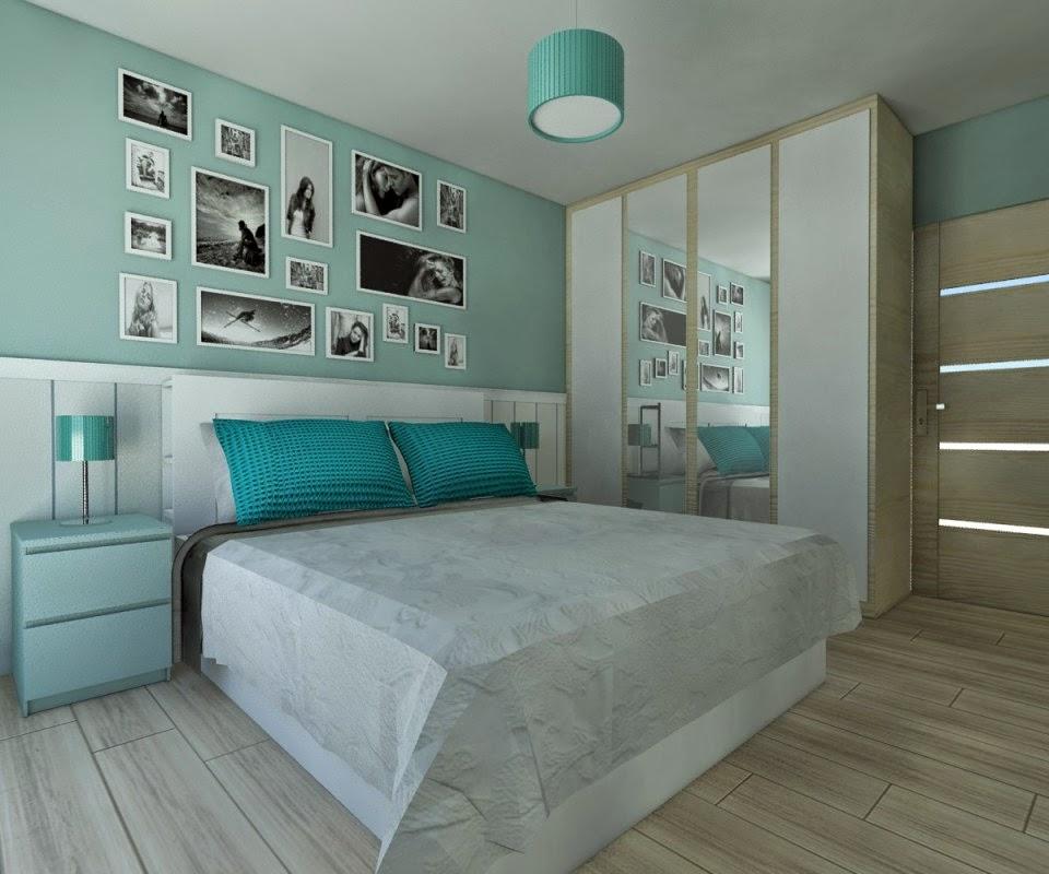 Dormitorios en color turquesa dormitorios colores y estilos for Cuartos de nina color turquesa