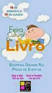 Shopping Grande Rio promove a Feira Cultural do Livro