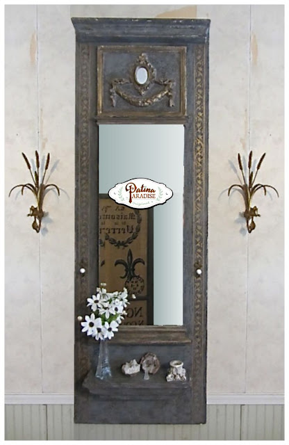 mirror, molding, diy, mirror tutorial, how to frame your mirror, #fabflippincontest, #fffc