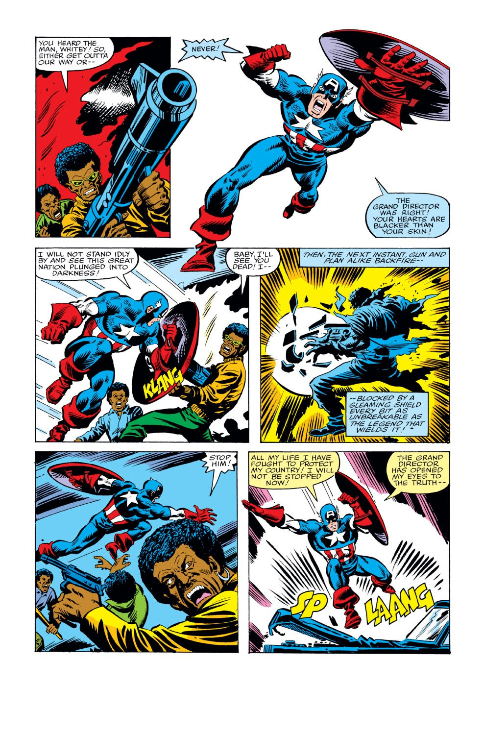 Captain America (1968) Issue #234 #149 - English 3