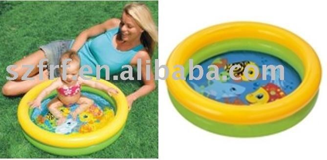 Tartas de pa ales castillos accesorios for Baby garden pool