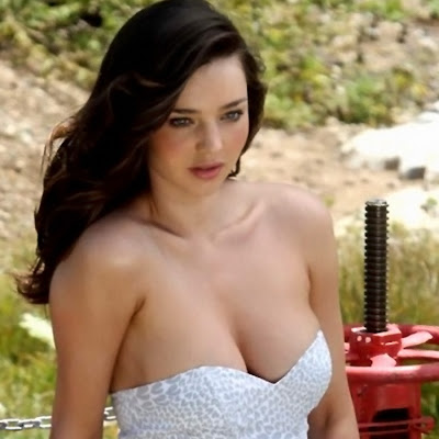 Miranda Kerr Sexy Cleavage Hot Busty Have Faith Swimwear Malibu