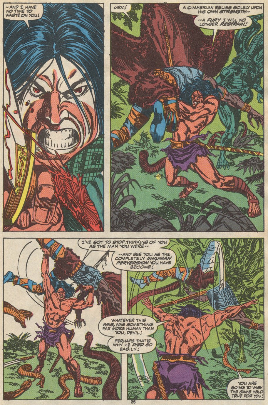 Conan the Barbarian (1970) Issue #237 #249 - English 20