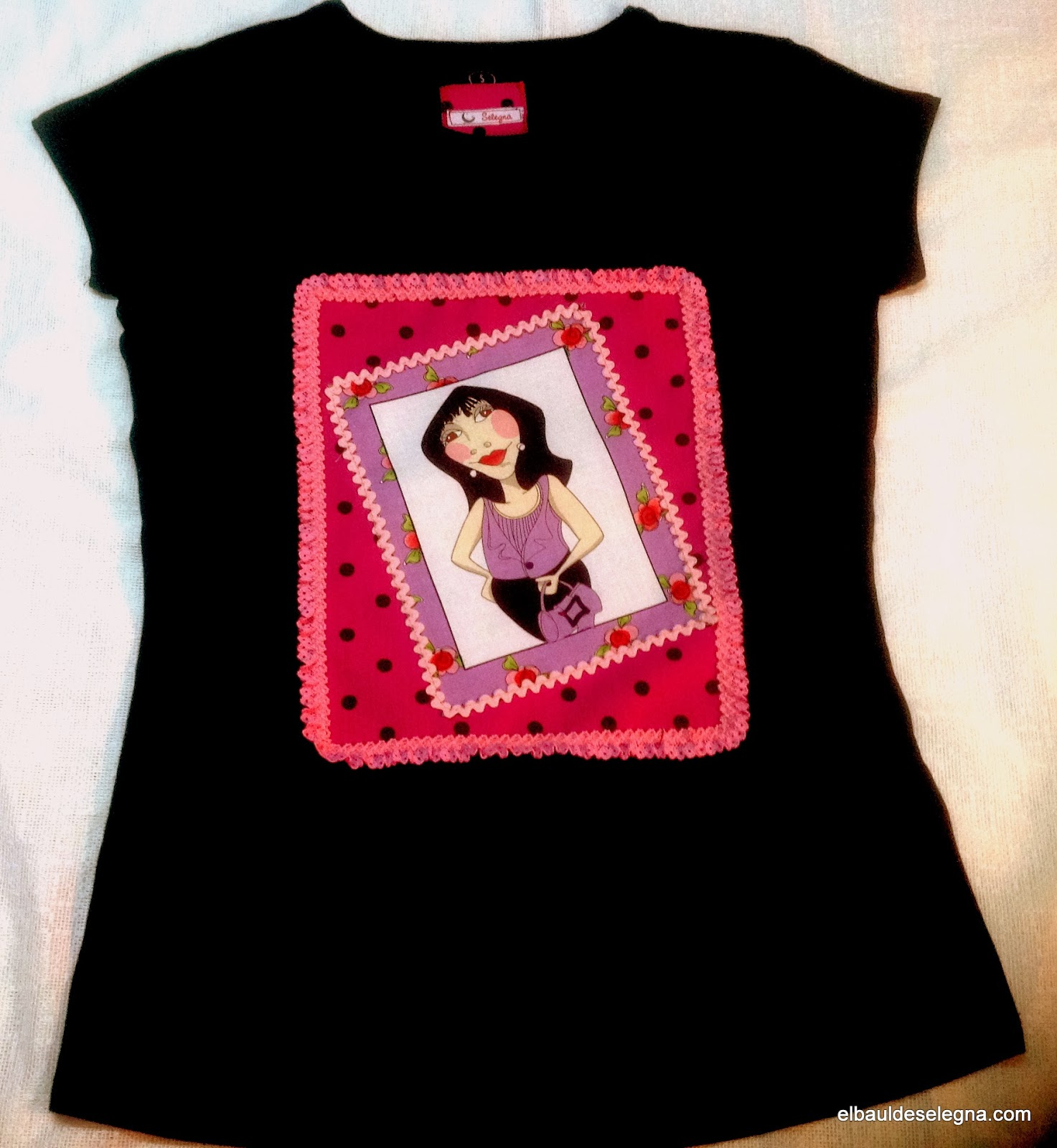 Camiseta chica loca 01