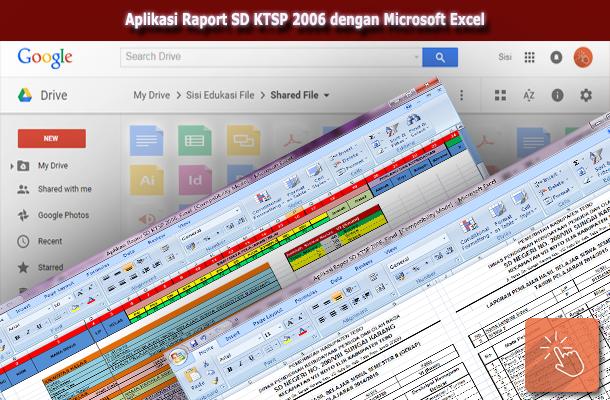 Contoh Aplikasi Raport SD KTSP 2006 dengan Microsoft Excel