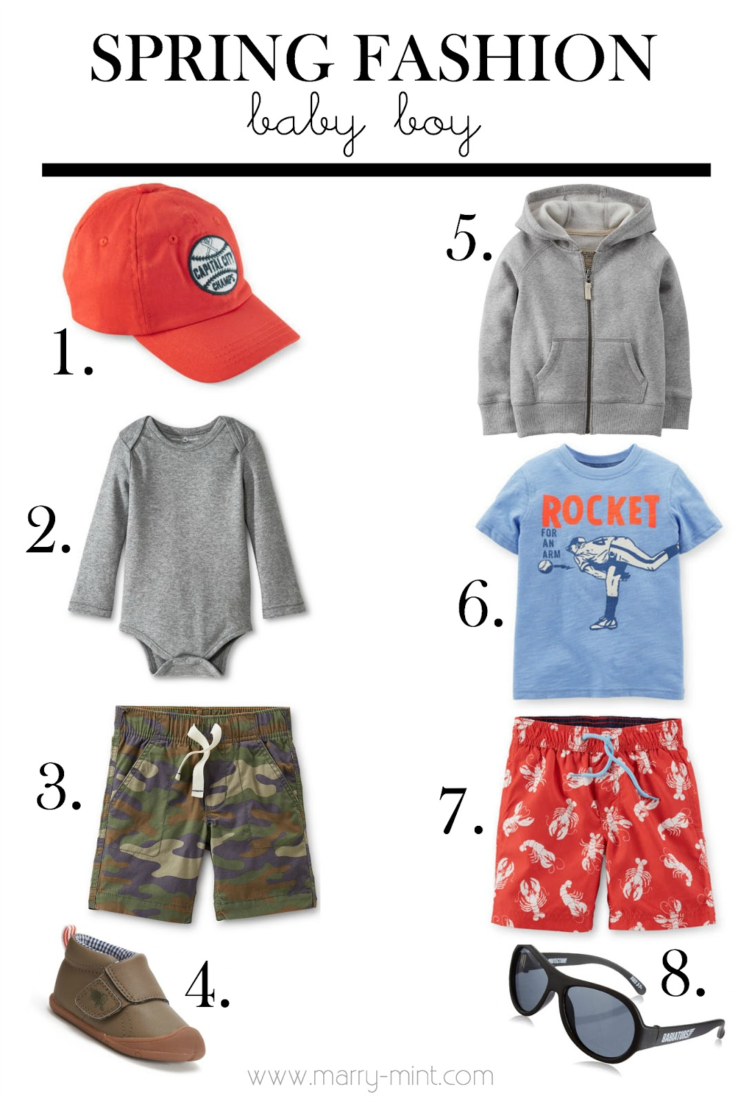 baby boy spring clothing