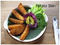 kuliner potato skin