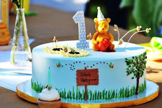 Inspirasi kue ulang tahun pertama anak tema beruang