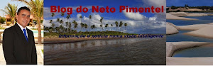 Curta a página do Blog do Neto Pimentel No Facebook