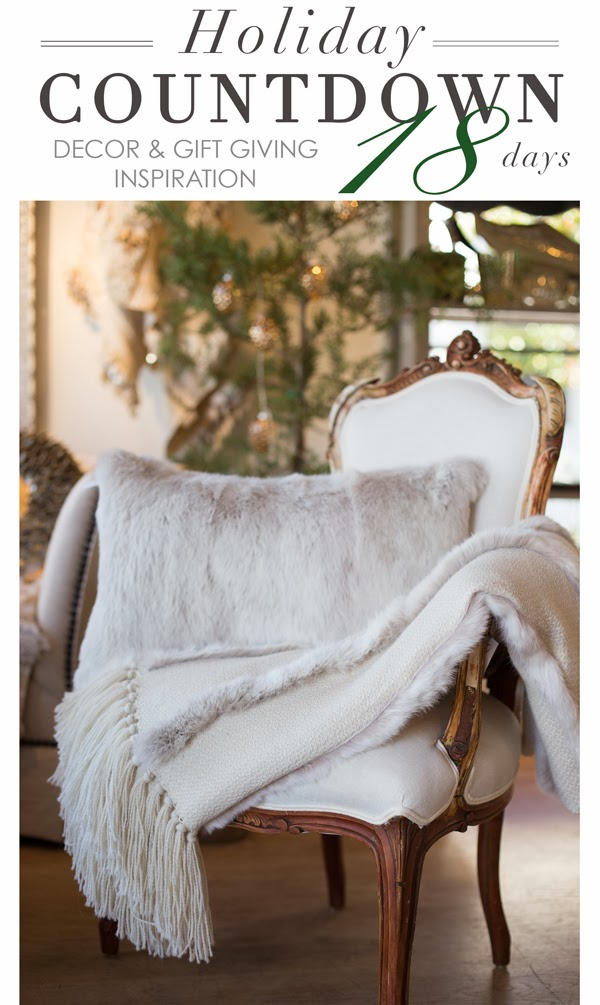 Maison K Holiday Countdown Home Decor and Gift Giving Inspiration Argentina Hand Crafted Textiles Santa Barbara CA