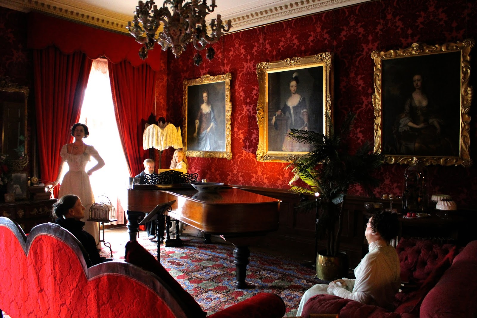 Warcwick Castle Blog Review Music Room