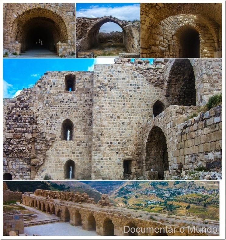 Castelo de Kerak; Jordânia; Kerak Castle; Jordan