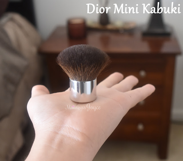 Dior Mini Kabuki Brush Review