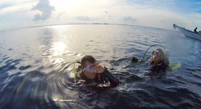 Hariyadi, Guide Trip Dive dari Mata Elang