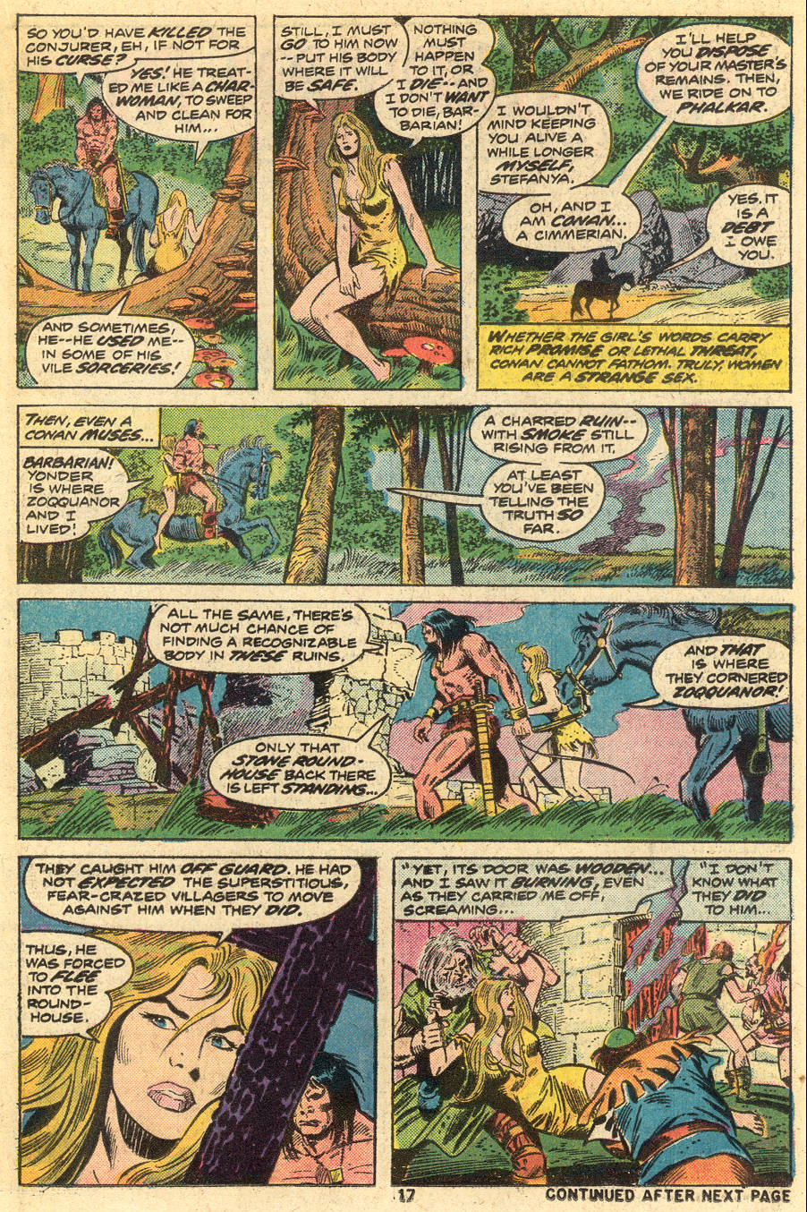 Conan the Barbarian (1970) Issue #46 #58 - English 12