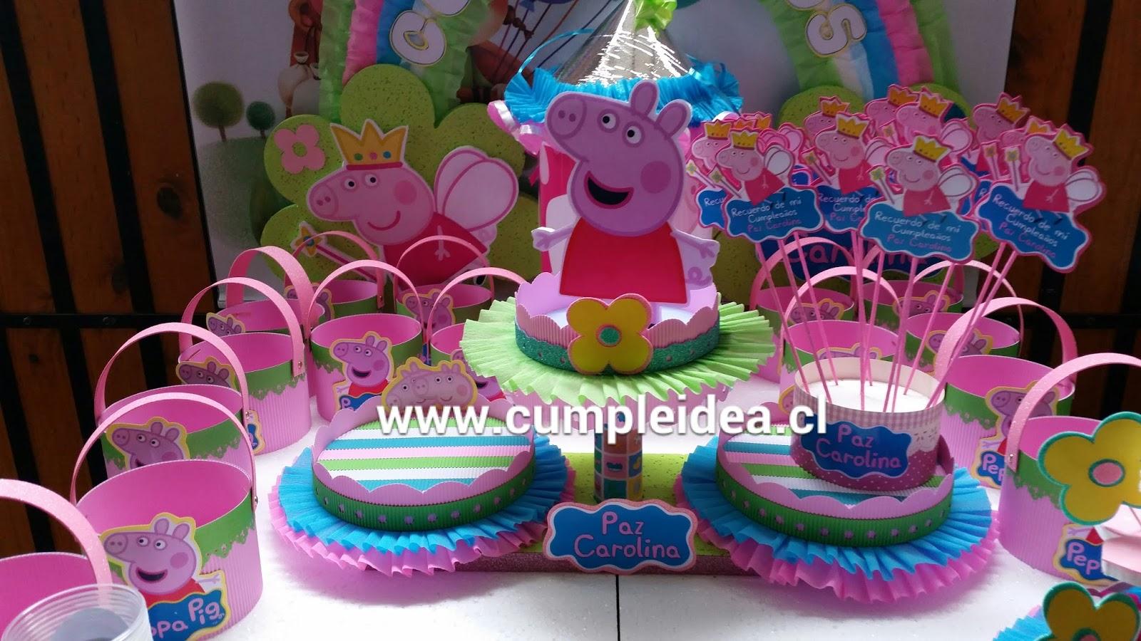 Decoraciones infantiles peppa pig for Decoraciones infantiles