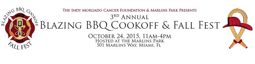 IMCF & Marlins Park present the 3rd Annual Blazing BBQ Cookoff and Fall Fest