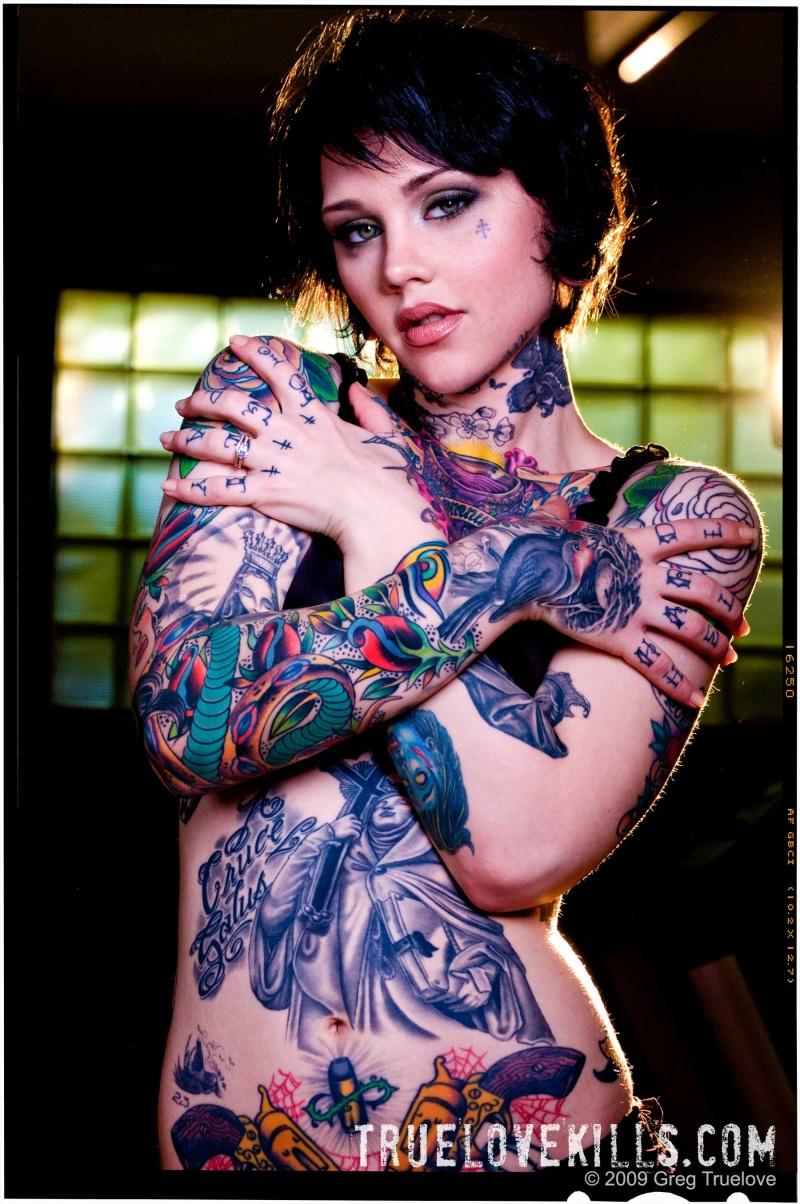 Зечки в татуировках фото