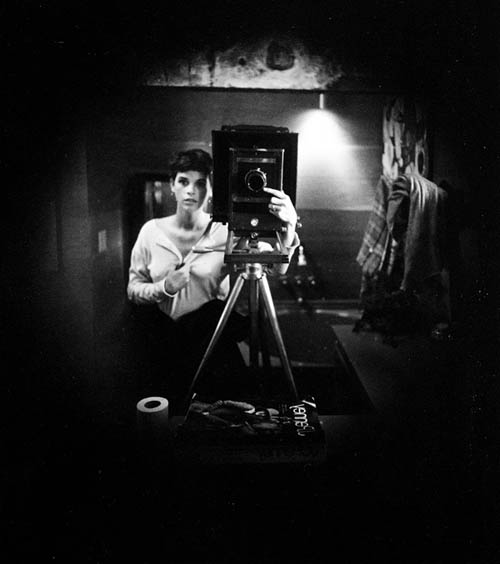 Auto-retratos ao espelho de fotógrafos famosos - Sally Mann