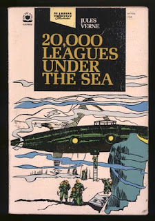 """a literary analysis of twenty thousands leagues under the sea by jules verne Jules verne's science fiction novel twenty thousand leagues under the sea   be next on their list"""" (""""twenty thousand leagues under the sea"""" literature and."""