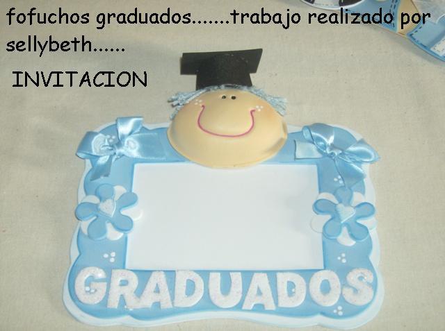 Invitaciones para graduación de los niños del Kinder o preescolar ...