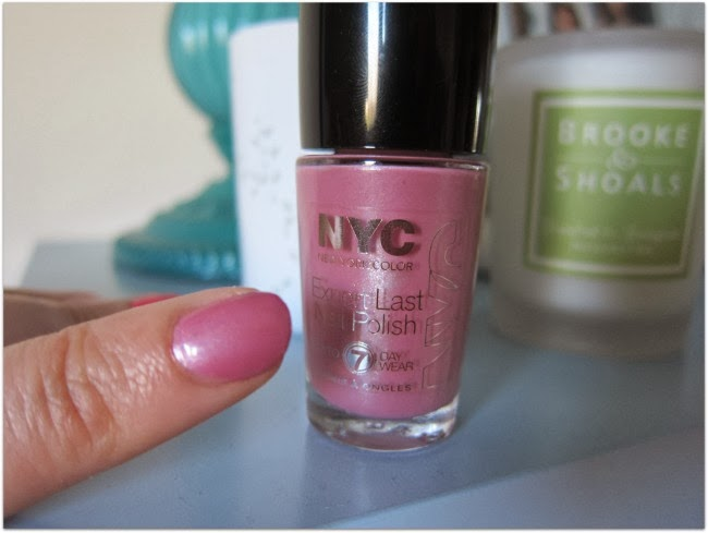 NYC Expert Last Nail Polish  Long Time Lavender