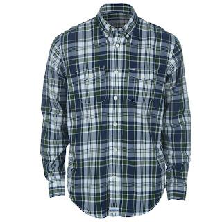camisa tommy cor azul