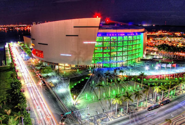 America Airlines Arena Miami Heat