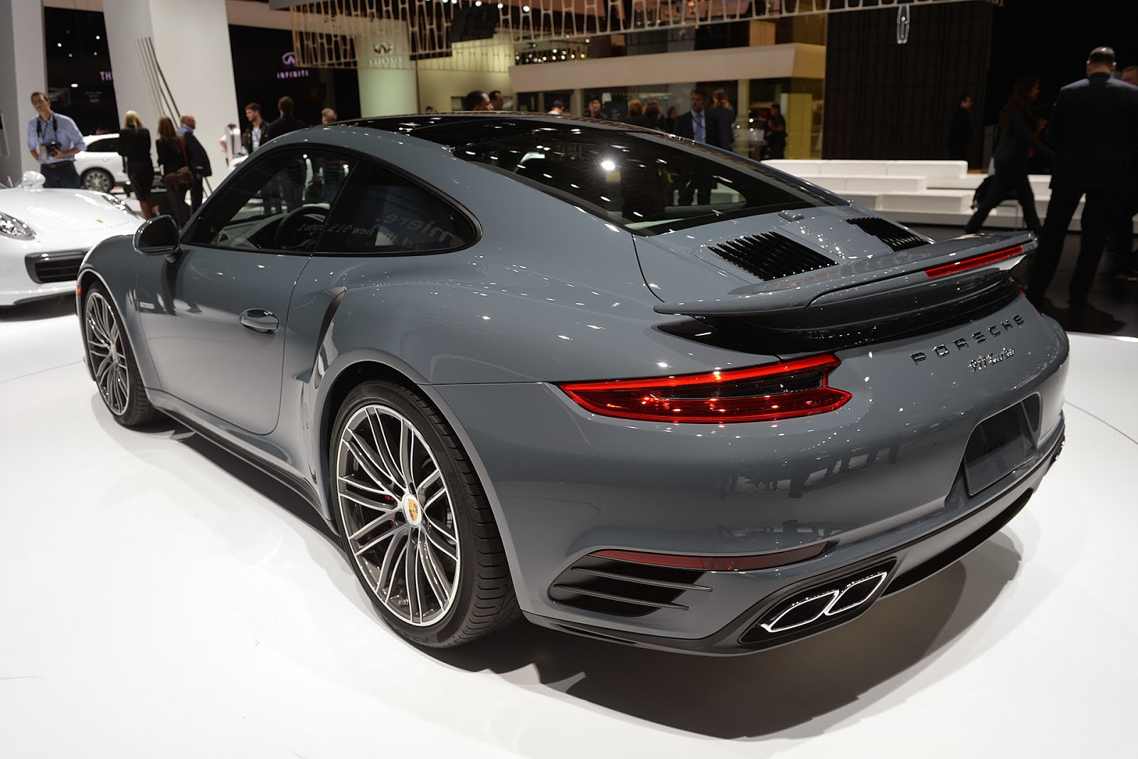 m e m o 2016 porsche turbo slate gray. Black Bedroom Furniture Sets. Home Design Ideas