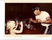 Me and Ray Leonard